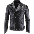 most fashion mens leather jacket high quality custom men motorcycle pu leather jacket New design Custom Leather Jacket for Men