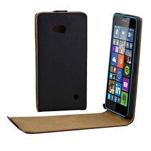 Vertical PU Leather Flip Case Fundas Capa For Microsoft Nokia Lumia 640 Cover Up