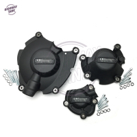 Black Motorcycles Engine Protection Cover Water Pump Covers Case For GB Racing For YAMAHA YZF1000 R1