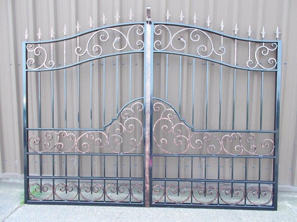 Hench 100% Handmade Forged Custom Designs Driveway Gates