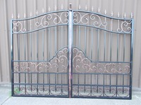 cast iron gate automatic driveway gates entrance gate