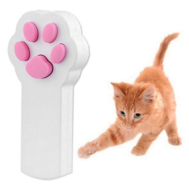 Funny Pet Cat Dog Interactive Automatic Red Laser Pointer Exercise Toy Hot Sale
