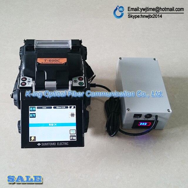 Type-81c Sumitomo Оптоволоконной сварки/TYPE-600c/400 s +/type71c Мощность/12000 мАч/mobile power/источник питания ПОСТОЯННОГО ТОКА