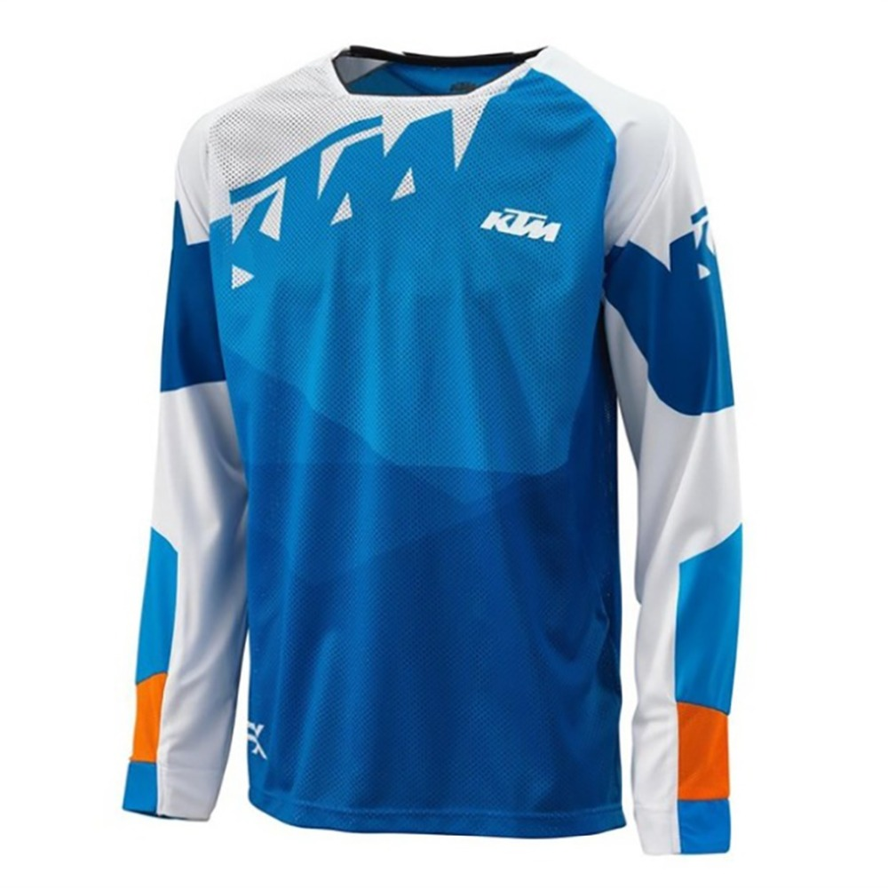 KTM Wholesale MOTO GP Sports Jersey Motorcycle Riding Team Riding Jersey Bicycle Cycling Bike downhill Jerseys(China)