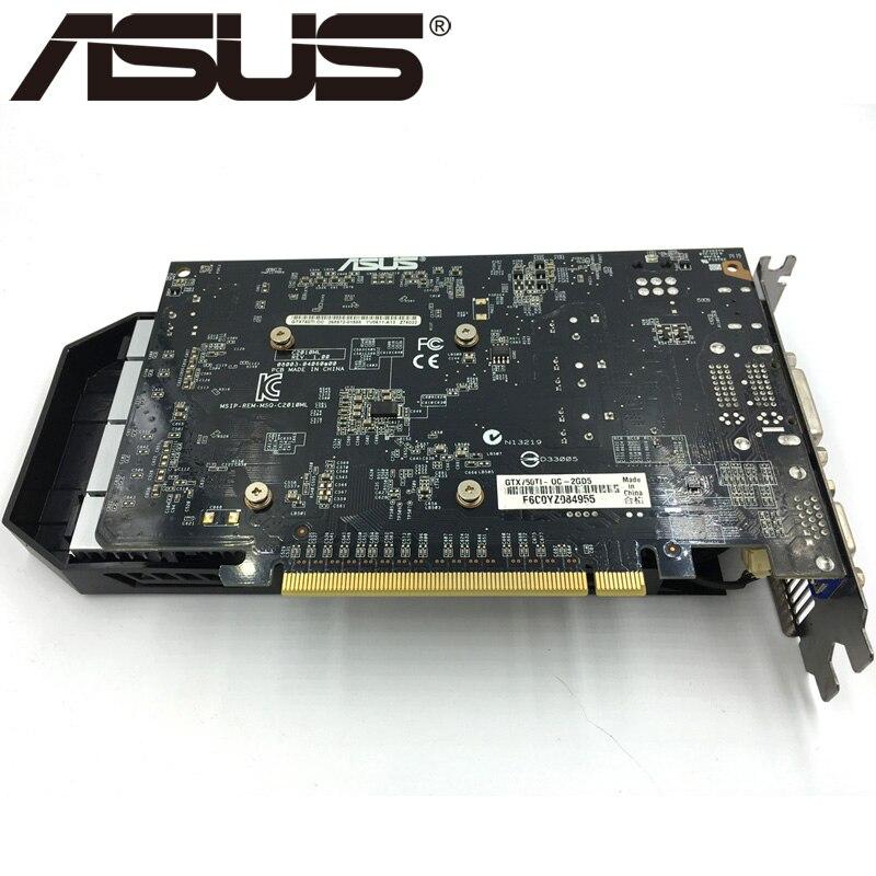 ASUS Original Graphics Card GTX 750 Ti With 2GB 128Bit GDDR5 Video Cards 2