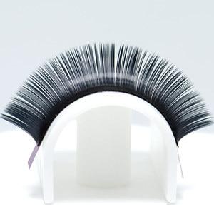 Image 4 - 5 cases NAGARAKU B C D 0.15mm 0.20 thinkness Mix length Ellipse Flat Eyelash Extensions Saving time Grafting Easily soft natural