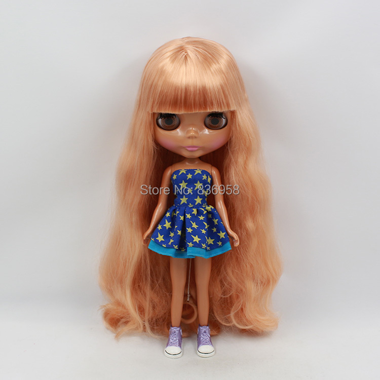 Nude Doll For Series No .300bl2240 Bangs Long Curly Flaxen Hair Back Skin Suitable For Diy Change Toy For Girls Pleasant In After-Taste Toys & Hobbies