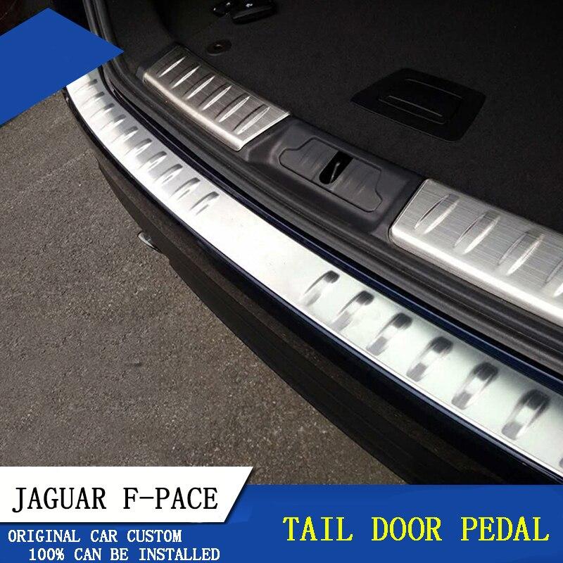 2017 Jaguar F Pace Interior: For Jaguar F PACE 2016 2017 Trunk Sill Pedal Cover