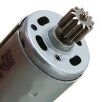 Nuevo RS390 chico Motor de coche 6 V 14000 RPM Motor eléctrico para chico paseo en coche de bicicleta de juguete caja de engranajes motor 70x28mm