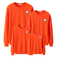 2019 autumn children boys Alien hoodies sweatshirts family look matching mother father baby daughter clothes mother son outfits