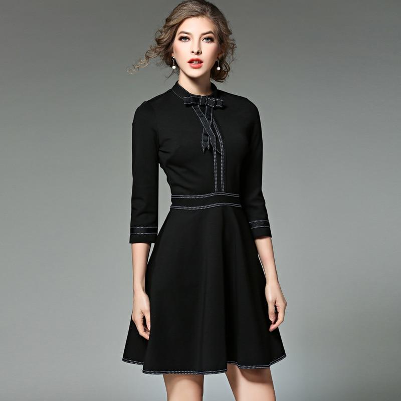 Nowe panie mody czerwony boże narodzenie sukienka 2017 Vestidos ukraina czarne kobiety Party sukienki zimowe sukienki Robe Femme Jenner w Suknie od Odzież damska na  Grupa 2