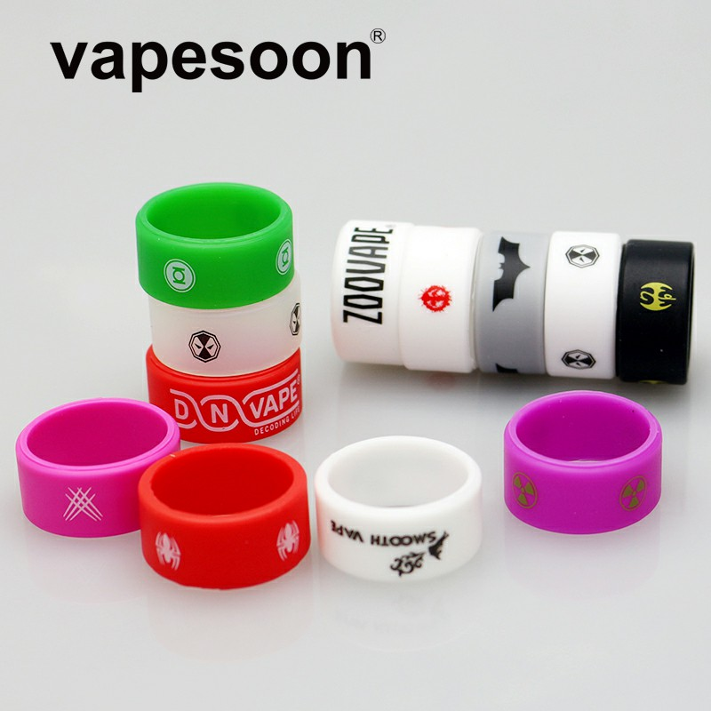 Vapesoon Vape-Band-Ring Rubber Etc TFV8 TFV12 E Cigarette IJUST S-Tank Non-Slip for 26--12--2