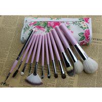 12PCS Makeup Brushes Natural Professional Make Up Brush Set Pincel Maquiagem For Beauty Blush Contour Foundation