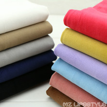 Buulqo Stretchy Thick cotton corduroy fabric for DIY jacket trousers fashion clothes making cotton 50*145cm fabric