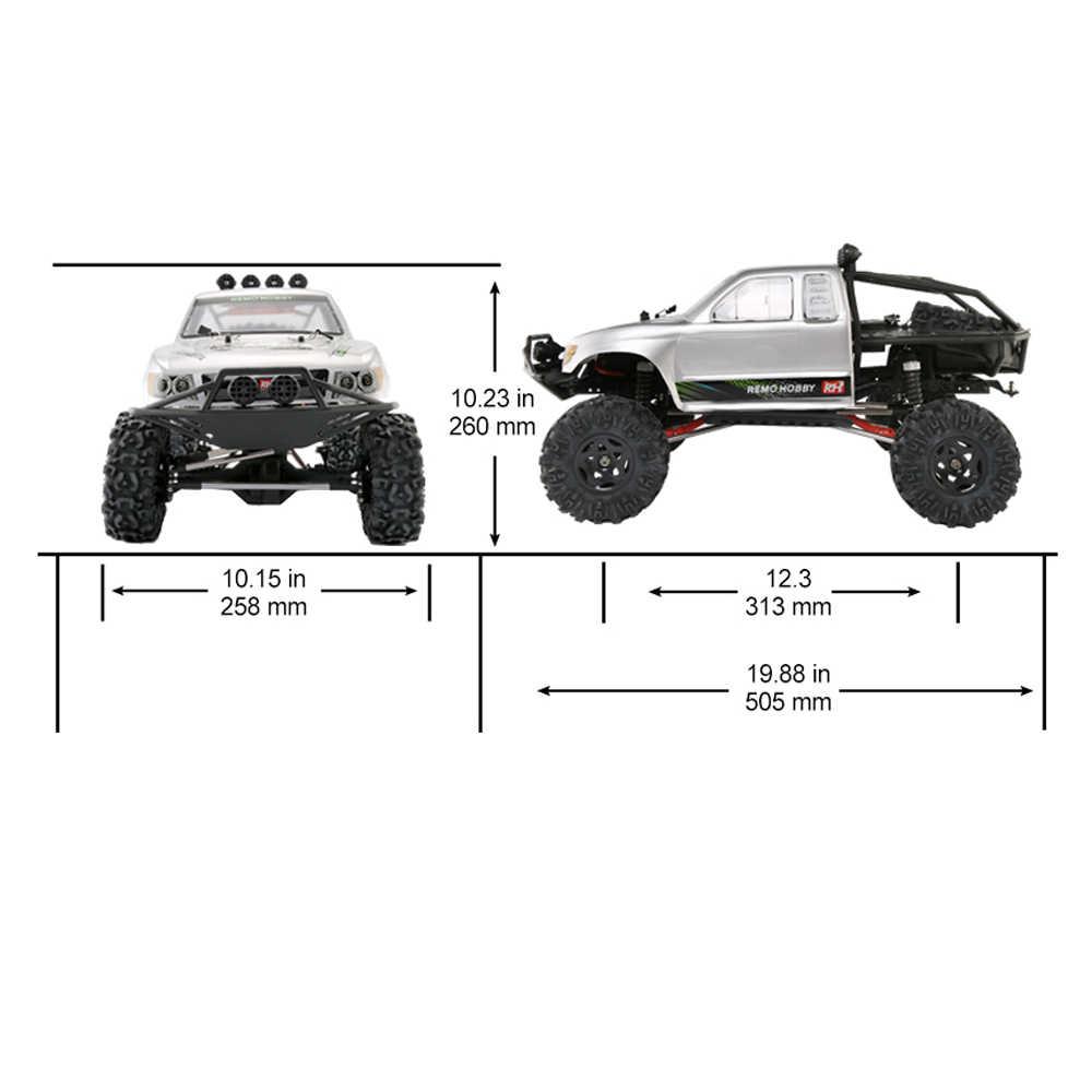 Ремо хобби 1093-ST 1/10 RC автомобиль 2,4 г 4WD Brushed Off-road Rock Crawler Trail Rigs грузовик RTR модели дистанционного управления детская игрушка-подарок
