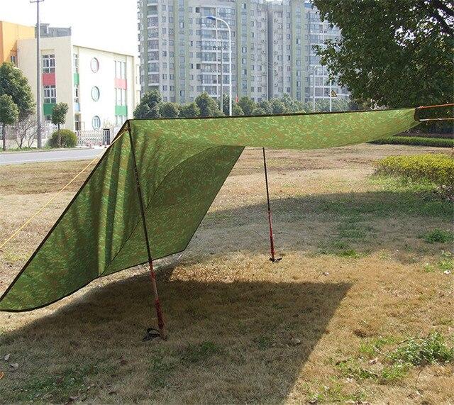3m*3m Ultralight C&ing Tarp Sun Shelter Tent Large Rain Car Tarpaulin Waterproof Cover Nylon & 3m*3m Ultralight Camping Tarp Sun Shelter Tent Large Rain Car ...