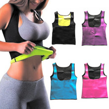 Gold Hands Women Clothes Neoprene T Shirt Tops Vest Women Slimming Body Shaper font b Weight