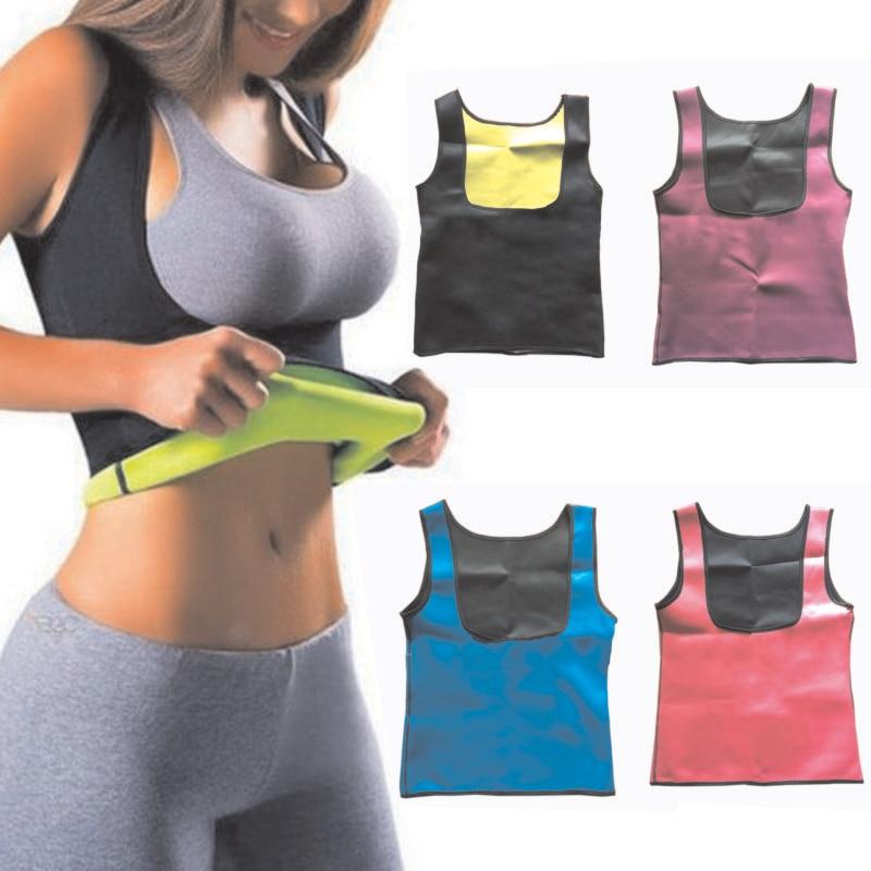 Gold Hands Women Clothes Neoprene T-Shirt Tops-Vest Women Slimming Body Shaper Weight Loss Corrective Underwear Free shipping