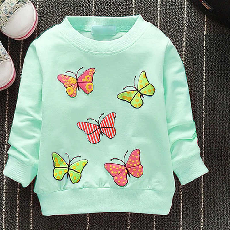 Fashion New Arrival Baby Girls T shirt Spring Autumn Winter
