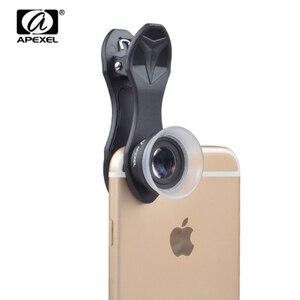 Image 5 - APEXEL Universal Macro Photography Lenses 12 24X Super Macro Lens for iPhone Mobile Phone Camera Lens for Samsung Xiaomi