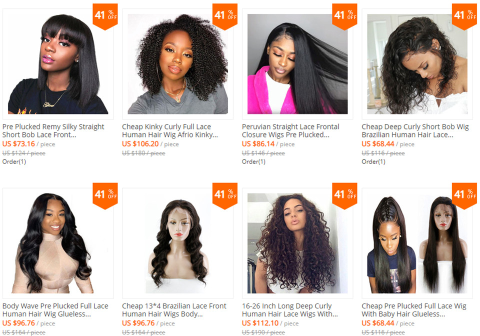 other texture wigs