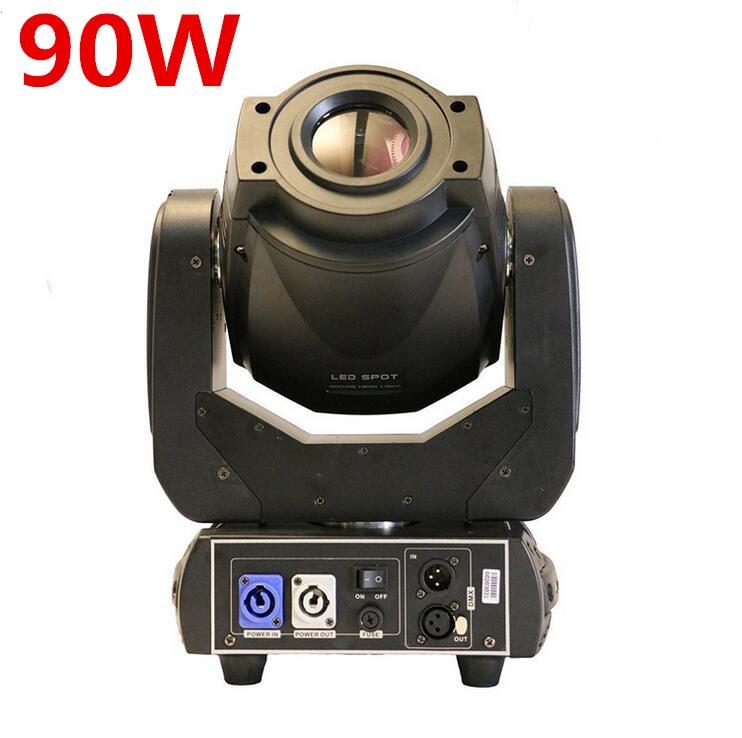 все цены на 2X 90W LED Moving Head Spot Stage Lighting 6/16 DMX Channel Hi-Quality Hot Sales 90W 3-face Prism Led Moving Light New Design онлайн