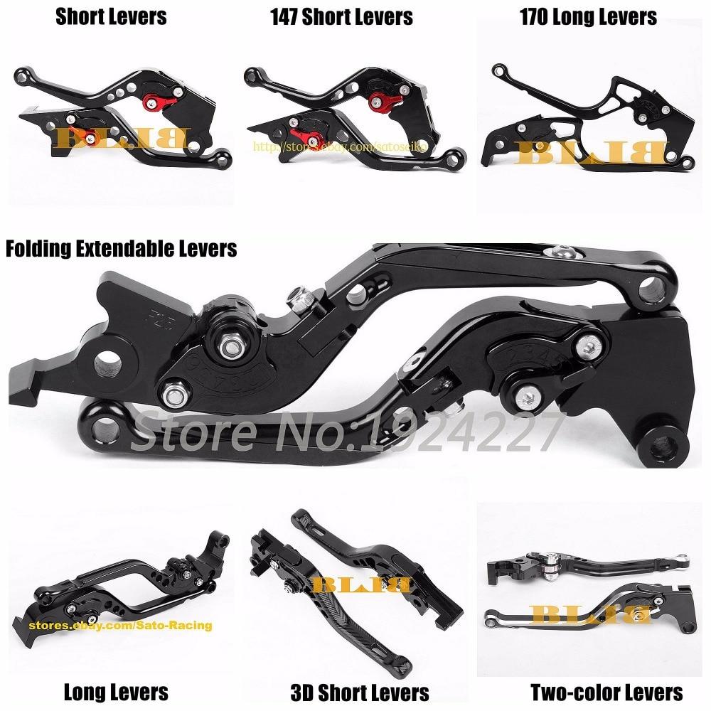 CNC 3D Brake Clutch Levers For Honda VFR800//F 2002-2018 CBF1000 2006-2009 US