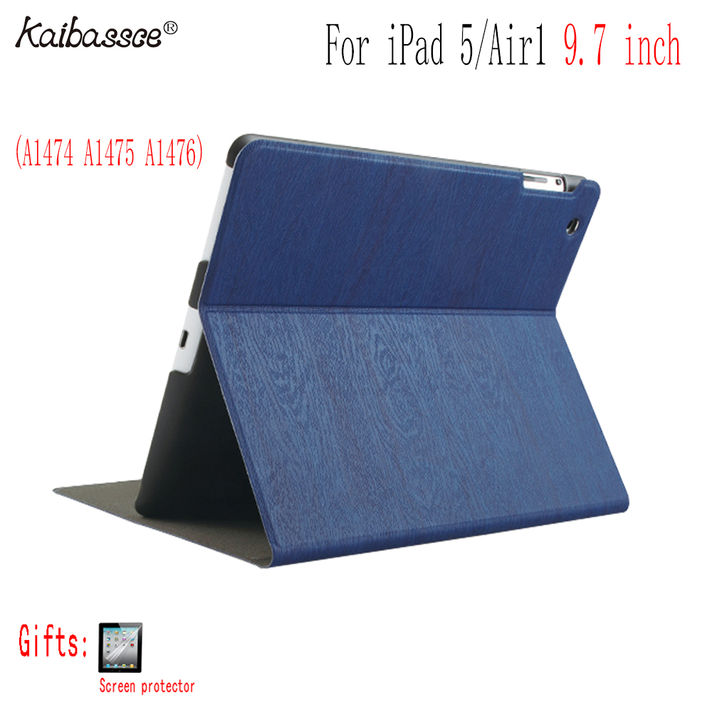 Case for iPad 5 9 7 inch tablet case flip smart sleep PU case for iPad