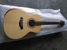 Бесплатный подарок Бесплатная доставка на заказ твердая гитара Byron academy 12e гитара OOO15 стиль корпус 39 «акустическая электрогитара с подлокотниками