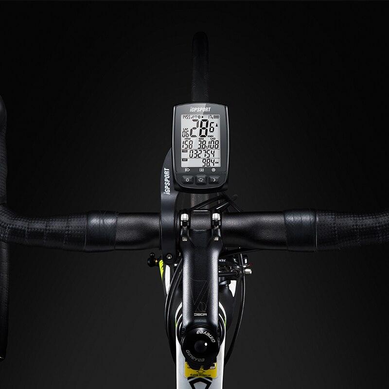 IGPSPORT IGS50E GPS ciclismo ordenador inalámbrico IPX7 bicicleta impermeable cronómetro Digital ciclismo velocímetro ANT + Bluetooth 4,0 - 6