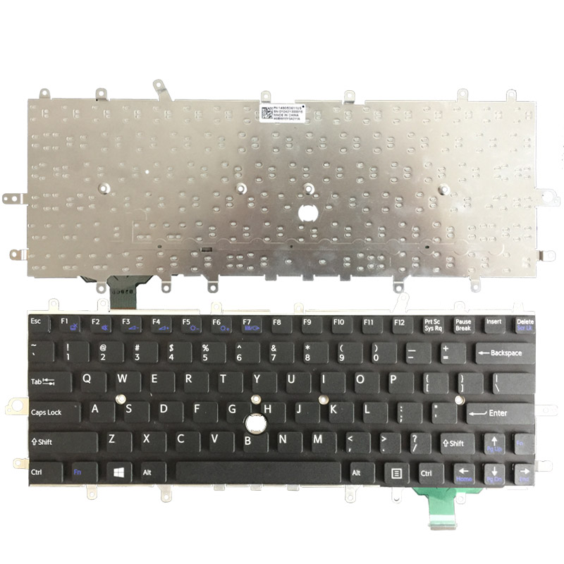 New Laptop Keyboard for sony vaio Duo 11 SVD11 D11 SVD11218CCB SVDII219CC SVD112A1SW US keyboard