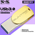 Suntrsi USB Flash Drive OTG USB 3.0 64 ГБ Флешки Высокая Скорость Micor USB Хранения флэш-Накопитель USB Stick Металла Флэш-Накопитель для Android