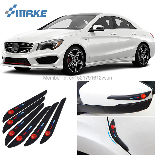 smRKE Auto Side Mirror Protector Door Side Edge Protection Guards Stickers For Benz GLK GLA GLC  sc 1 st  AliExpress.com & smRKE Auto Side Mirror Protector Door Side Edge Protection Guards ...