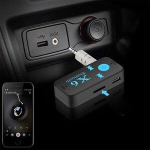 Image 3 - 3 en 1 sans fil Bluetooth adaptateur 4.0 USB Bluetooth récepteur 3.5mm Audio Jack TF lecteur de carte MIC appel Support pour voiture haut parleur