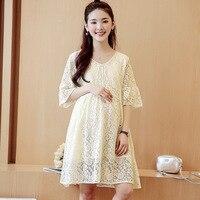Women Dress Maternity Lace Pregnancy Clothes Pregnancy Dresses Clothes For Pregnant Women Summer H56