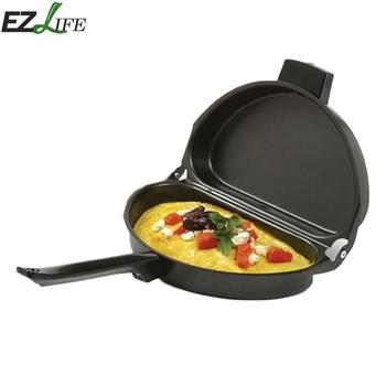 Stainless Steel Non-stick Frying Pot Folding
