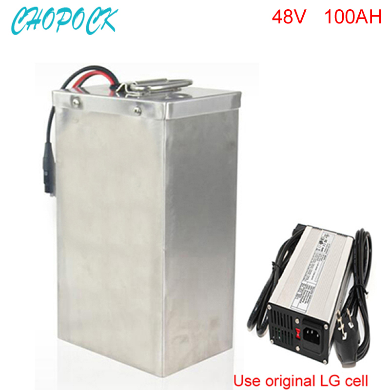 Factory Direct Sales 48V 100Ah Customized Lithium Battery 48V 3000W Giant Bike Battery with 5a charger and 50A BMS 2017 new style electric bike battery 24v 100ah lithium battery pack with bms customized