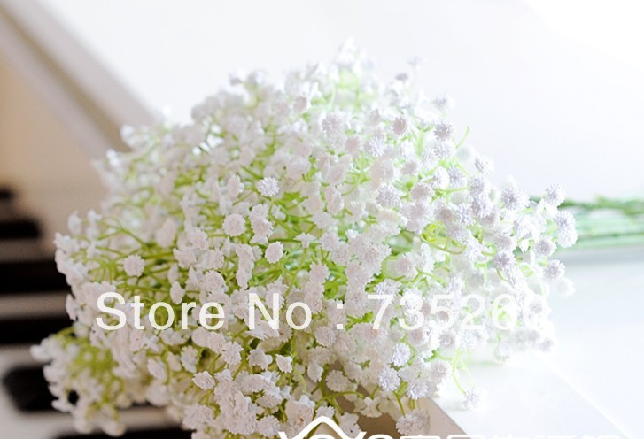 Free shipping factory wholesale 30pcslot baby breath wedding free shipping factory wholesale 30pcslot baby breath wedding decoration flower white colour flowers artificial touch flowers in artificial dried flowers mightylinksfo