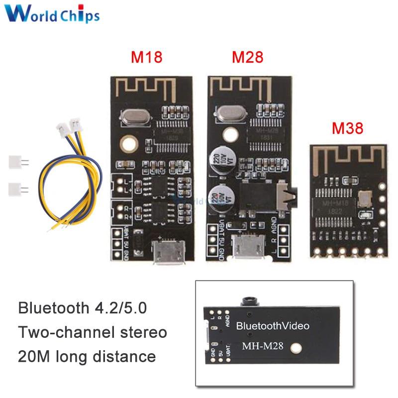 MH-MX8 inalámbrico Bluetooth MP3 receptor de Audio Junta módulo BLT 4,2 mp3 sin pérdidas decodificador Kit de bricolaje de alta fidelidad HIFI M18 M28 M38