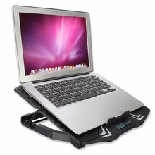 Dual USB Laptop Cooling Pad 5 Fans