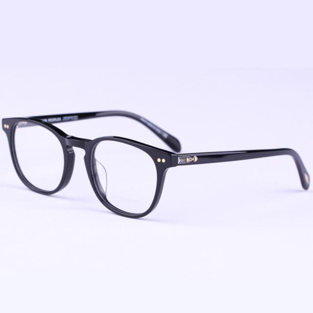 Oliver peoples óculos ópticos quadro homens mulheres computador óculos espetáculo lente clara para yq041 transparente das mulheres masculinos