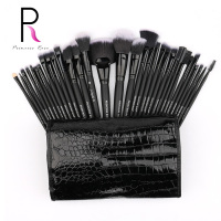 Princess Rose Brand 32pcs Professional Full Make Up Kit Makeup Brushes Set Bag For Foundation Blush