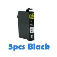 5 шт. BK совместимые чернильные картриджи для Epson T830 T1932 T1932 tкость T1934