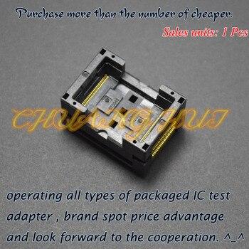 TSOP48 test socket FLASH socket OTS48 socket Pitch=0.5mm program test new tsop48 on line test socket smd welding tsop48 tsop48 ic socket adapter pitch 0 5mm