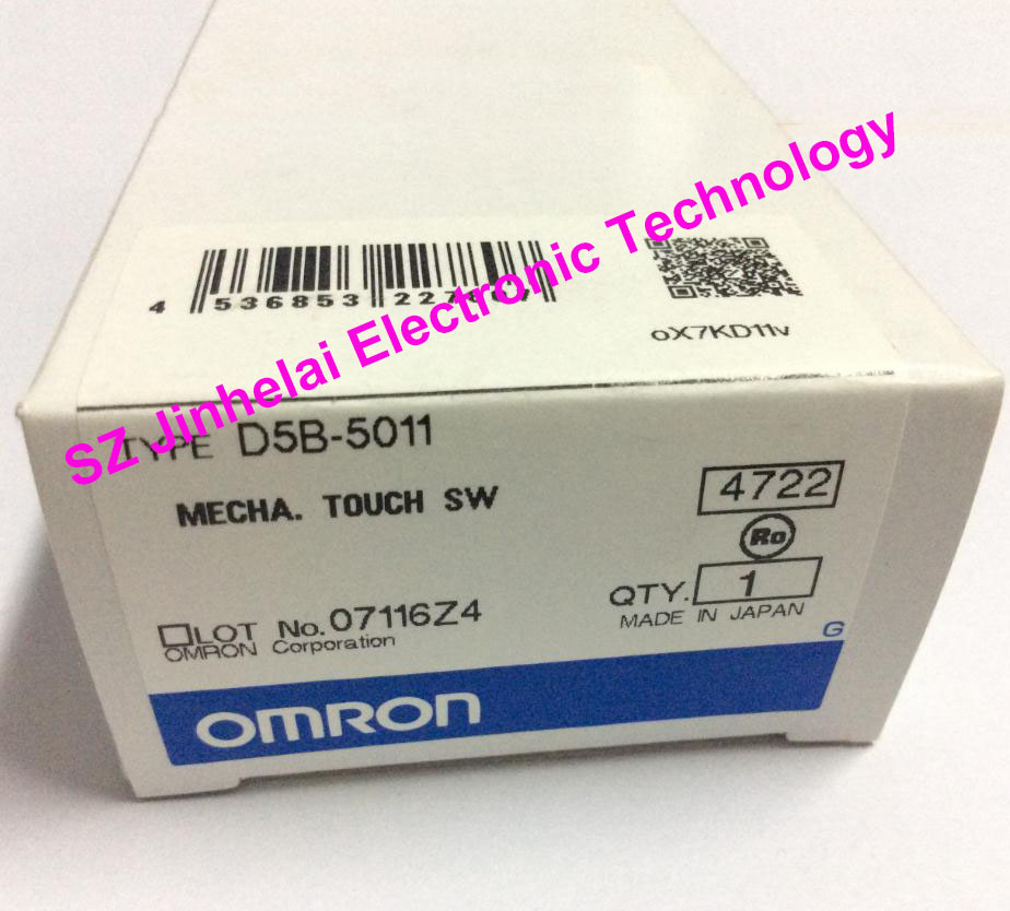 Authentic original OMRON MECHA.TOUCH SWITCH D5B-5011