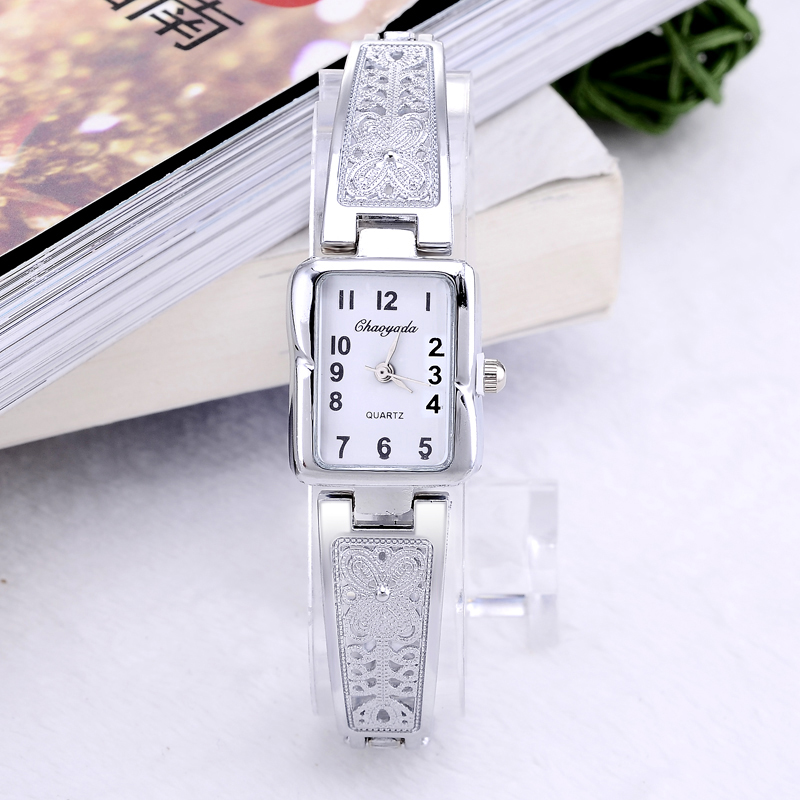 Luxury Brand Top Fashion Silver Watch Women's Watches Bracelet Gold Watch Full Steel Quartz Watch Clock Montre Homme Reloj Mujer