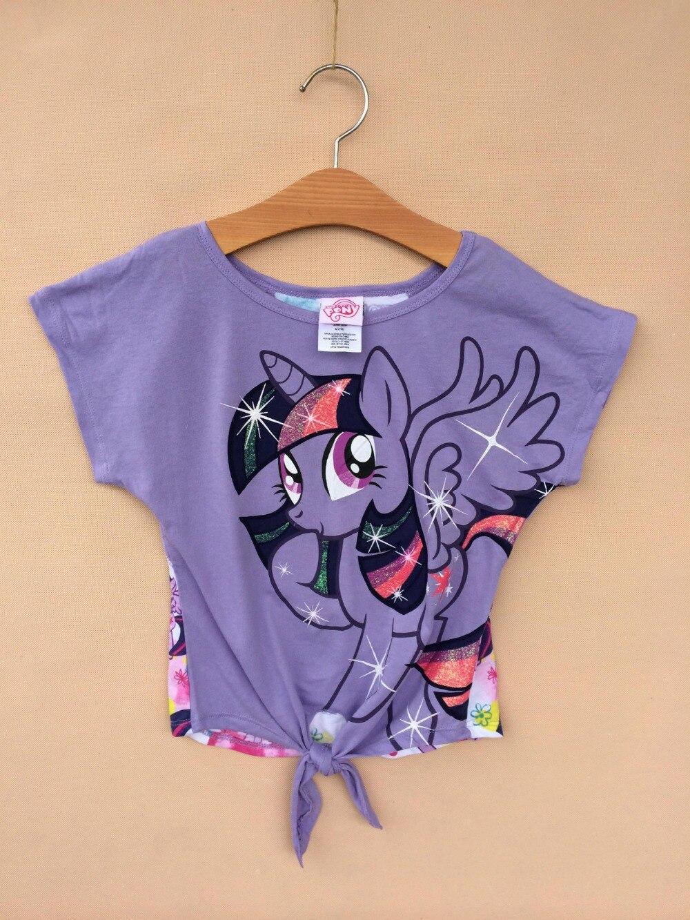 Little Pony Clothes Tshirt Summer Shirt Girl Girls