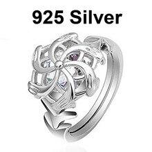 Женское кольцо Властелин колец Nenya Galadriel, ювелирный фанат в подарок, серебряное кольцо Властелина водного LOTR Elf, ювелирный фанат