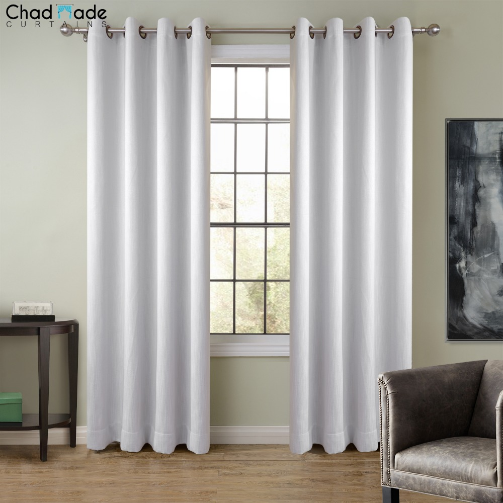 ChadMade Extra Wide Solid Color Window Curtain 1 Panel  High Shading Curtain Drapes for Living