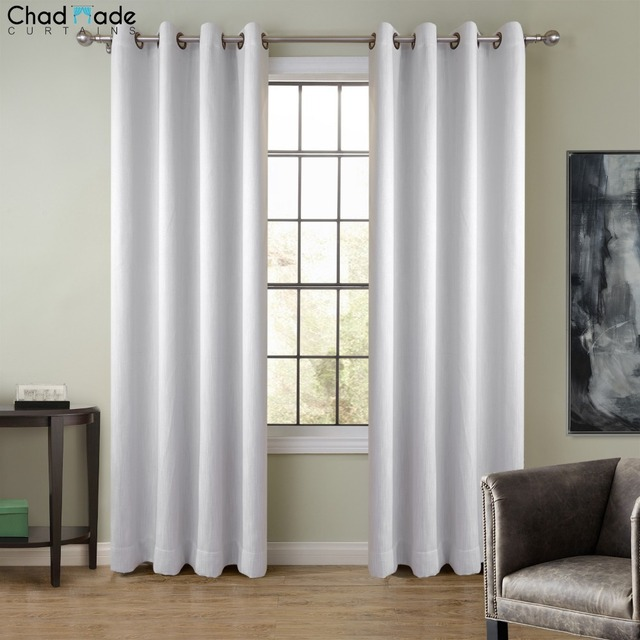 Perfect ChadMade Extra Wide Solid Color Window Curtain (1 Panel ) High Shading  Curtain Drapes For